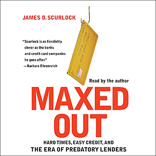 Maxed Out audiobook cover art