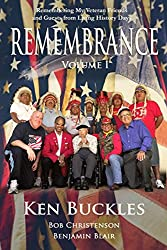 Image: REMEMBRANCE Volume I: Remembering My Veteran Friends and Guests from Living History Days | Paperback: 414 pages | by Kenneth Buckles (Author), Benjamin Blair (Author), Bob Christenson (Editor). Publisher: Independently published (October 8, 2020)