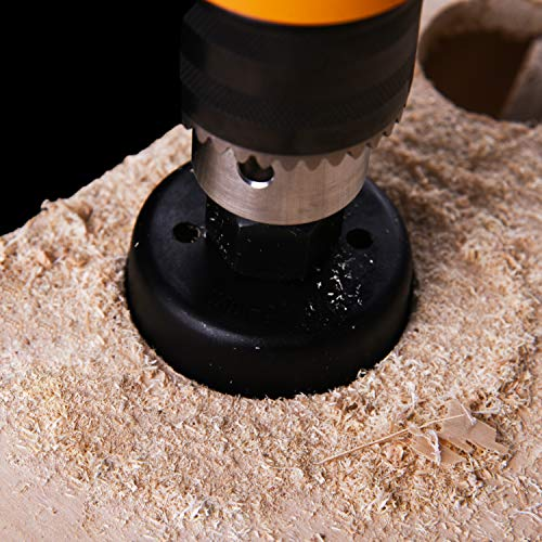 Drilling Large Holes with a Hole Saw