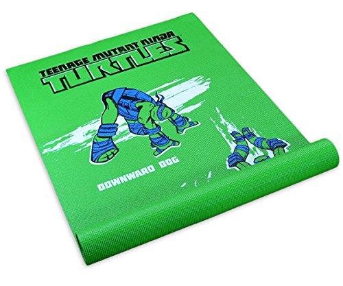 Nickelodeon Teenage Mutant Ninja Turtles Kids Yoga Mat Play Pad - Modern Leonardo