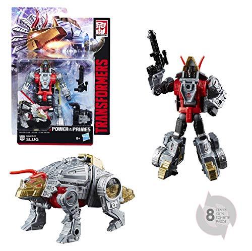 Hasbro Transformers e0919Figur Generationen Power of The Prämien Deluxe Dinobot Slug