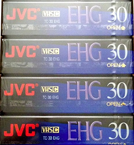 Check Out This JVC EHG (Extra High Grade Compact) 30 VHS C 4 Pack