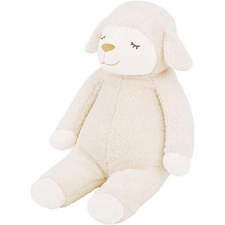 りぶはあと 抱き枕 ひつじのメイプル メイ アイボリー Lサイズ(全長約70cm) かわいい ふわふわ 48122-12