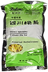 Preserved Mustard Stems (Sesame Oil) - 25oz [Pack of 3]