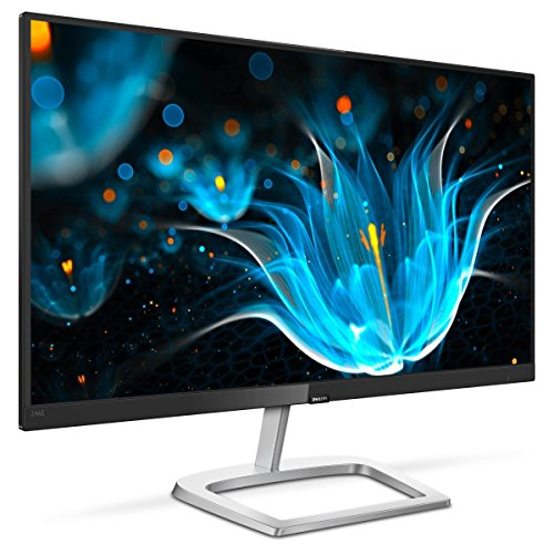"Philips 246E9QDSB 24"" Frameless Monitor, Full HD IPS, 129% sRGB, 75Hz, FreeSync, VESA, 4Yr Advance Replacement Warranty"