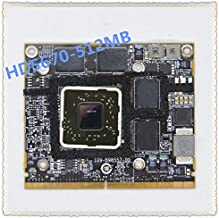 REFIT A1312 HD5670 Video Card 2010 Year 512MB 109-B98557-00 216-0772003 HD 5670 Graphic Card Replacement