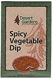 Desert Gardens Spicy Vegetable Dip Mix (Pack of 4)