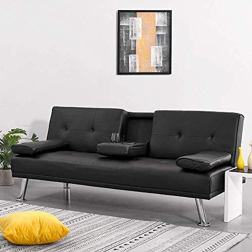 Sofá cama de 3 plazas moderno sofá esquinero con doble sop