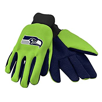 Forever Collectibles 74214 NFL Seattle Seahawks Colored Palm Glove