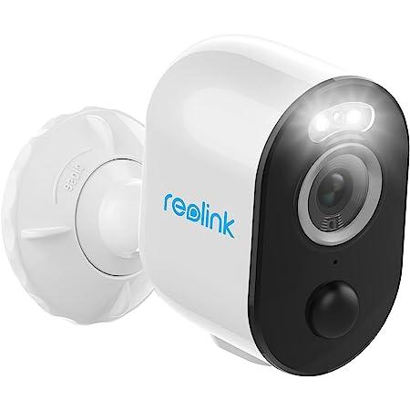 Reolink 4MP Caméra Surveillance WiFi sur Batterie Extérieur sans Fil Argus 3 Pro, 2,4/5 GHz Détection Personne/Véhicule PIR Caméra IP Time Lapse Audio Bidirectionnel Vision Nocturne en Couleur
