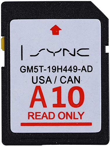 Ford Lincoln A10 Navigation SD Card USA/Canada…