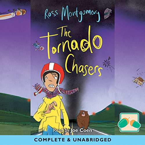 The Tornado Chasers audiobook cover art