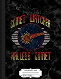 Vintage Official Comet Watcher Halley's Comet Composition Notebook: College Ruled 9¾ x 7½ 100 Sheets 200 Pages For Writing: College Ruled 93/4 X 71/2 100 Sheets 200 Pages for Writing