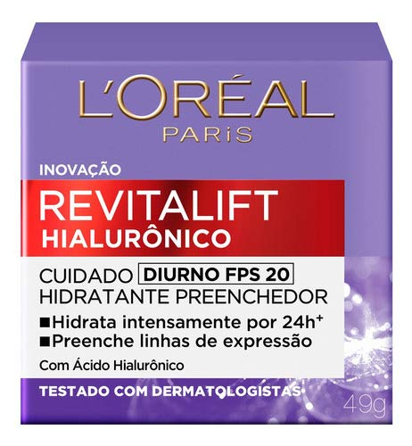 Creme Anti-idade L'oréal Paris - Revitalift Hialurônico Diur