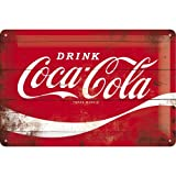 Nostalgic-Art Retro Blechschild, Coca-Cola – Logo Red