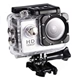 Discovery Action Camera, 4K Sports Cam with 2.0' Touchscreen, battery life 90 minutes, 90°Wide Angle, Image Sensor for Underwater, Outdoor Activity Mini DV Action Camera Camcorder, 7 Colors(Silver)