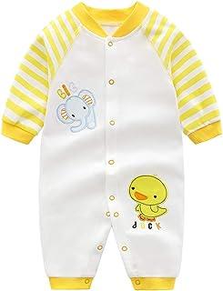 Tuta Salopette Body Bimbo Bimba Bambini Baby 100/% Cotone Estate Giallo Blu 62-86 cm Sun /& Fun Pinokio