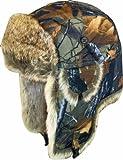 HIGHLANDER Flying Hat - Gorro, tamaño M, Color Verde Camuflaje