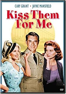 Kiss them for me Cary Grant Jane Mansfield poster #2