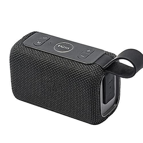 Altavoces para exteriores, Altavoz inteligente multifuncional inteligente de voz a prueba de agua Mini Altavoces inalámbricos portátiles Bluetooth Altavoz de ducha, para viajes de oficina en casa