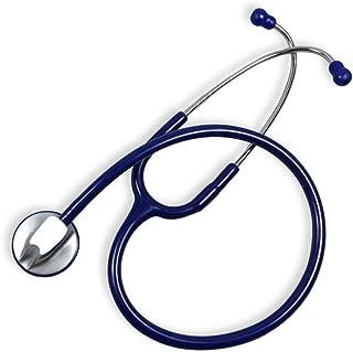 YIGEYI Médico Estetoscopio Adulto Clínica Médico Profesional Estetoscopio, adecuados for Lactantes de Edad, Neonatal Convertible Pecho audición frecuencia cardíaca fetal (Color : Blue)