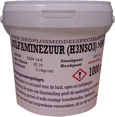1000gr Amidosulfonsäure (Sulfamic acid >99%, tech grade)