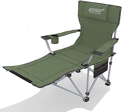 WJJH Sonnenliege LiegestuhlRelaxsessel & -Liegen Outdoor Liegestuhl Verst ung Klappbett Siesta Einzelbett Büro Klappstuhl MittagSpaßse Einfache Camp Bett 150 kg Blau Style-2