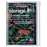 Mark's Europe 2020/2021 - Agenda tascabile verticale, formato A6, colore: Jungle Black., 21DRI-AV04-BK