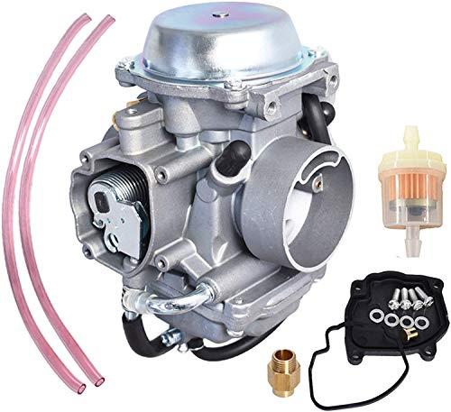 Youyaa Carburetor Part Carburetor Replacement for Suzuki LT-F500F ltf500f Carburetor Quadrunner 500 Carb 4X4 1998-2002
