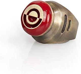 Star Wars Crimson Dawn Replica Signet Ring | Solid Metal and Enamel | Size 9
