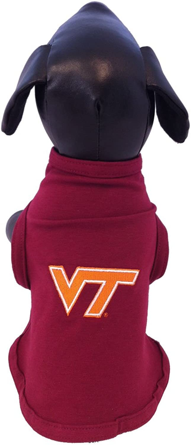 NCAA Virginia Tech Hokies Cotton Lycra Dog Tank Top