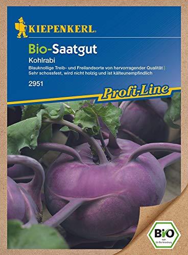 Saatgut Bio-Kohlrabi, blau
