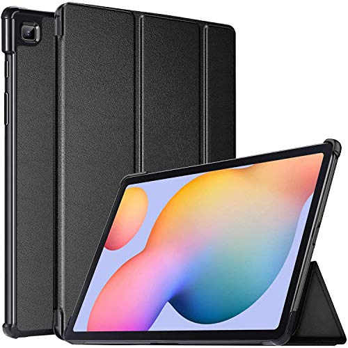 Gadget Armour Case for Samsung Galaxy Tab S6 Lite 10.4 SM-P610 SM-P615 2020, Magnetic Smart Stand Cover with Auto Wake & Sleep fits Samsung Galaxy S6 Lite 10.4 Inch (Black)