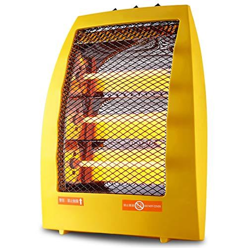 LTLJX Halogen-Heizer, 3 Heizstufen, 1050 Watt, Quarz Heizstrahler mit Tragegriff, Umkippschutz, Innenraum Elektrisch Heizlüfter