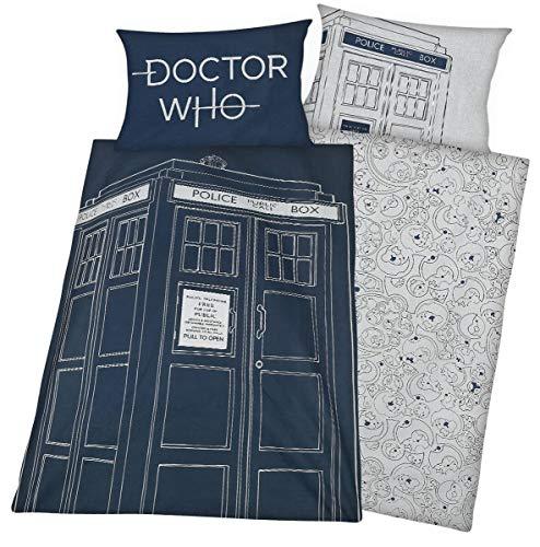 Doctor Who Fallout Bettwäsche-Set, Polycotton, Mehrfarbig, Einzelbett