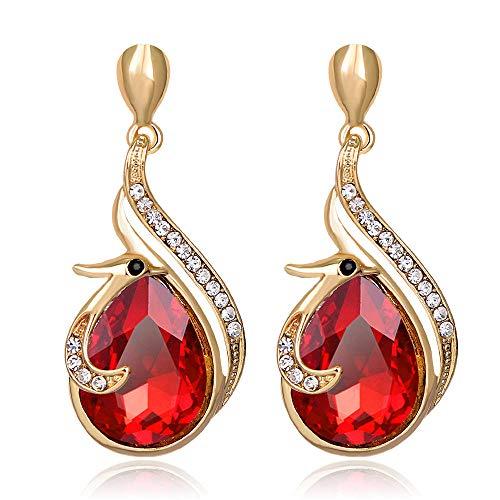 Orecchini in pietra preziosa diamante lega semplice stile ebay Kdw
