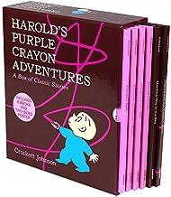 Harold's Purple Crayon Adventures: 6 Picture Book Box Set