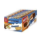 Knoppers ErdnussRiegel (24 x 40g) / Erdnussriegel mit Karamell und Milchschokolade