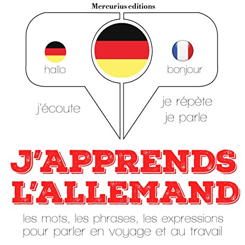 Couverture de J'apprends l'allemand