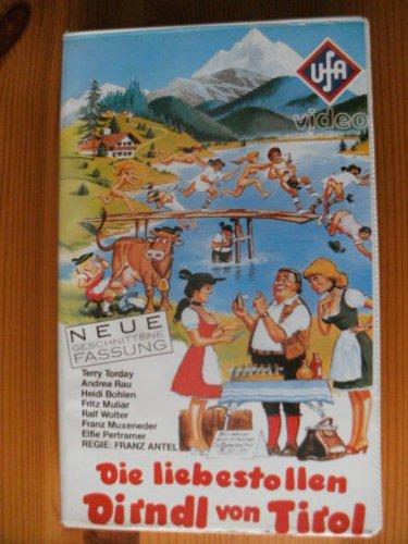 Die liebestollen Dirndl von Tirol [VHS]