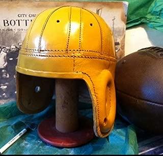 1940s Green Bay Pro Leather Football Helmet