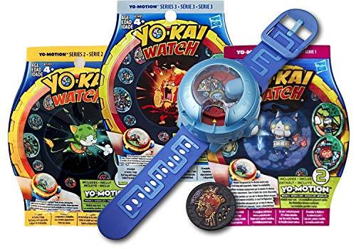 Yo-kai Watch Montre à Double Projection Modèle U + 6 Médailles