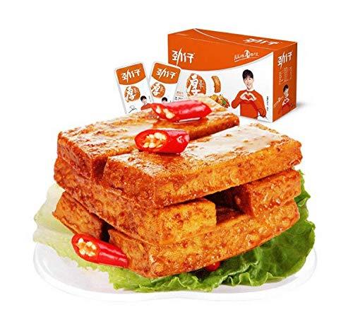 勁仔厚豆干 香辣味 素食小吃 豆腐干 つまみ 珍味 個別包装 1ケース(25g×20点)