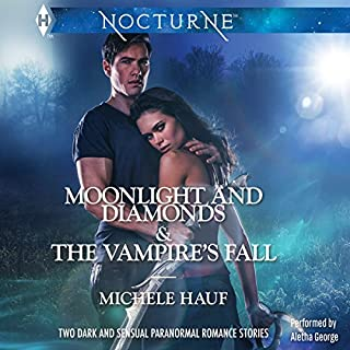 Moonlight and Diamonds and The Vampire's Fall audiobook cover art