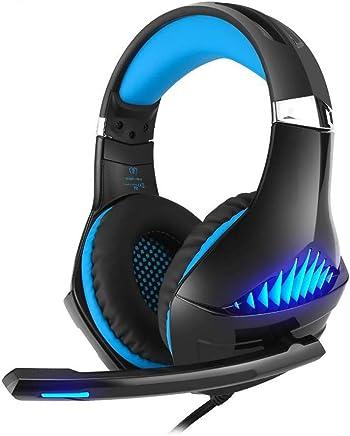 WANG XIN Headset Ps4 Gaming Headset Computer Pc Headset Controllo Anti-Rumore (Colore : Blu) - Trova i prezzi più bassi