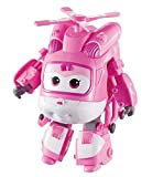 Alpha Animation & Toys- Transforming Super Wings YW710240 Transfoming Dizzy, Color rosa, blanco (