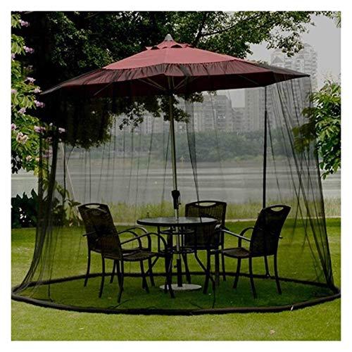 Gartenschirm Tischschirm Sonnenschirm Moskitonetz Gartenmückenabdeckung im Freien, Sonnenschirmabdeckungen Wasserdichte Sonnenschirm-Polyesterfaser für Sonnenschirm oa Gazebot (Farbe: 300 * 230 cm)