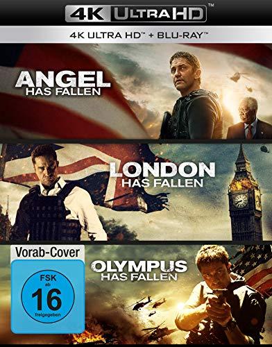 Olympus Has Fallen - Die Welt in Gefahr/London Has Fallen/Angel Has Fallen - Triple Film Collection  (3 4K Ultra HD) (+ 3 Blu-ray 2D)