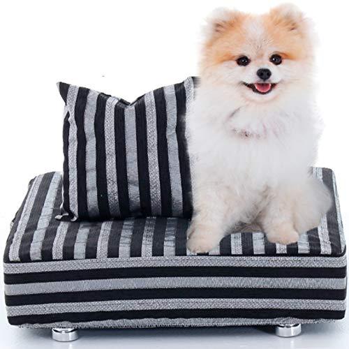 Cama Box Para Cachorro + Travesseiro - Caminha Pet - BF Colchões