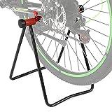 Lixada Caballetes para Bicicletas Plegables Soporte Mecánico de Bicicleta para Estacionamiento Limpieza Reparación